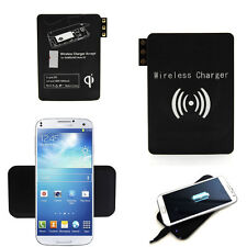 Wireless Charger Charging Pad + Receiver For iPhone 6 Samsung Galaxy S4 S5 Note