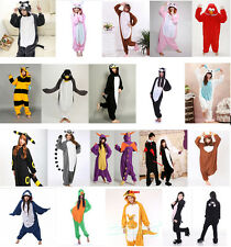 Hot New Pajamas Kigurumi Cosplay Costume Onesie Unisex Adult Animal Sleepwear