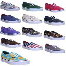 Vans Authentic Womens Foral Print Cheap on Sale Canvas Trainers Uk Size 3 4 5 6