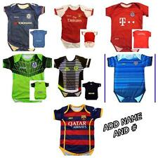 2015 /16  Baby Toddler Arsenal Bayern Munich Barcelona Chelsea Jersey! Add name