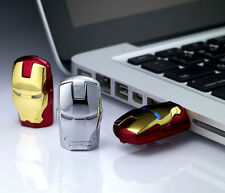 Iron Man Model 4GB 8GB 16GB 32GB USB2.0 FLash Memory FLash Drive pen Drive U dis