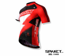SPAKCT Cycling Bicycle Short Jersey Short Sleeves - Lightning Red New