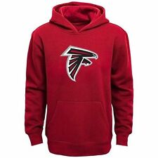 Atlanta Falcons Youth Team Logo Pullover Hoodie - Red - NFL