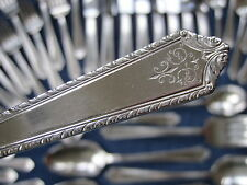 PAGEANT 1927 39pc 6Pl Holmes & Edwards Silverplate Flatware Silverware Set