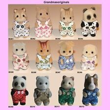 Sylvanian Families NEW clothes 1 PAIR OF BABY DUNGAREES - SEE SELECTION