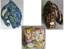 NWT Vera Bradley Double Zip Backpack Tote Travel Gym Bag Large Small Purse