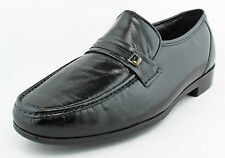Bostonian Mens Black Prescott Penny Loafer Slip On Dress Formal Shoes Ret $90 N