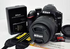 Nikon D3200 24.2 MP Digital DSLR Camera Kit w/AF-S DX VR 18-55mm 3.5-5.6G Lens