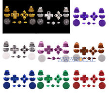 9 Colors Thumbstick Dpad Home R1/L1/R2/L2 Buttons Replacement For PS4 Controller