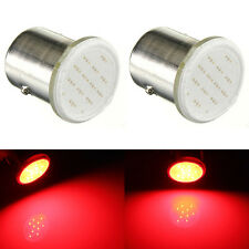4x RED 1157 BAY15D 12 SMD LED COB Car Turn Stop Signal indicator Bulb Lamp Light