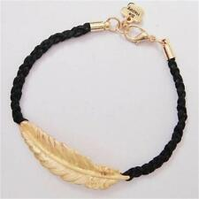 Zinc Alloy Leaves fashion lots Style Cute Infinity Charm Bracelet Woman Jewelry