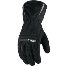 Icon Womens PDX Waterproof Motorcycle Gloves