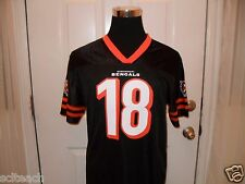 New with Tags Youth 2XL-20 Cincinnati Bengals A.J. Green #18 Black Mesh Jersey