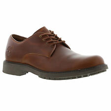 Timberland Earthkeeper Stormbuck Leather Waterproof Brown Oxford Mens Shoes