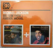 MICHAEL JACKSON GOT TO BE THERE + FOREVER MICHAEL  2 FOR 1