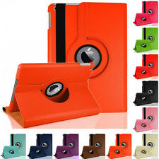New 360 Rotating Folio Stand Smart Leather Case Cover For iPad 2 3 4 Samsung