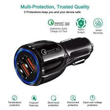 New Dual Twin USB Port Car Cigarette Socket Charger For Samsung Mobile Phone