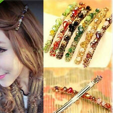 Women Rhinestone Crystal Headband Barrette Hairpin Hairgrip Hair Accessories NEW