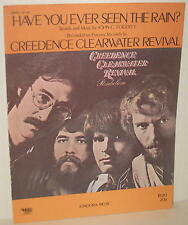 "1971 Credence Clearwater Revival ""Have You Ever Seen the Rain?"" Sheet Music"