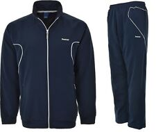 Reebok Mens Full Tracksuit Top and Bottoms Full Zip Joggers Jacket New Sports