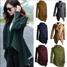 Fashion Women's Warm WOOL Slim Long Coat Jacket Trench Windbreaker Parka Outwear