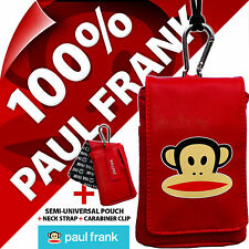 Paul Frank Red Phone Case Pouch Bag for iPhone SE 5S 4S Samsung Galaxy S4 Mini