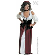 Ladies Womens Tavern Wench Costume for Middle Ages Medieval Fancy Dress