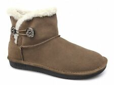 Skechers SHELBY OTTAWA Womens Ladies Suede Warm Cosy Fur Lined Winter Boots New