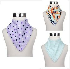 Bandana Bibs For Baby/Toddler Cute Stylish Patterns Design with Snaps [Set of 3]