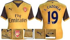 *15 / 16 - PUMA ; ARSENAL AWAY SHIRT SS / S. CAZORLA 19 = KIDS SIZE*