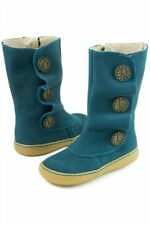 NIB LIVIE & LUCA Shoes Boots Marchita Ocean Blue Toddler 4 5
