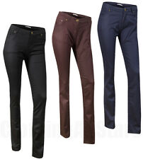 Ladies Jeans Womens Straight Leg Casual Trousers New Jeans Size 6-20