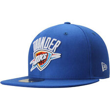 Oklahoma City Thunder New Era Current Logo 59FIFTY Fitted Hat - Blue - NBA