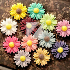 Resin FashionSun Flower Cameo Flatback Wholesale Assorted Fit Cabochon Settings