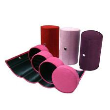 Portable three-story Cute Travel Carrying Jewelry Display Storage Case Roll Box