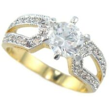 1.57CTW ROUND BRILLIANT STONE SOLITAIRE ENGAGEMENT BRIDAL RING size #5,6,8,9