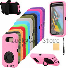 Defender Case w/Build in Screen Protector w/Belt Clip for Samsung & Apple iPhone