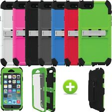 """Trident AMS Kraken Built-in Screen Stand Case Cover For iPhone 6S 4.7"""" & Holster"""
