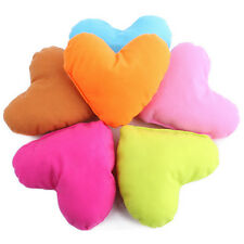 Pet Dog Plush Cat Cute Toy Kids Bed Home Candy Colors Heart-shaped Pillow CA11