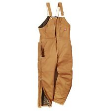 Dickies TB839BD Premium Insulated Brown Duck Bib Overall