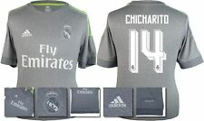 *15 / 16 - ADIDAS ; REAL MADRID AWAY SHIRT SS / CHICHARITO 14 = KIDS SIZE*