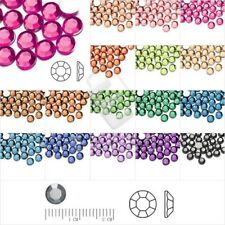 6mm Crystal Round SS28 Non-Hotfix Flat Back Rhinestones DIY Nail Arts Wholesale
