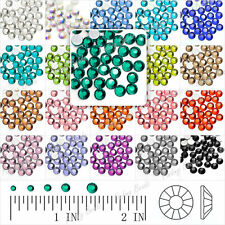 144/1440 Crystal Round Flat Back Rhinestones SS16 Crafting Nail Art Non-Hotfix