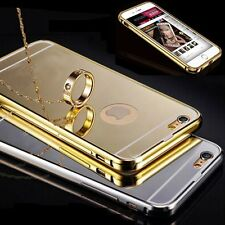 NEW Luxury Aluminum Ultra-thin Mirror Metal Case Cover for iPhone 6 6s Plus