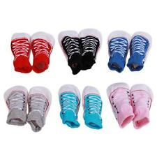 1 Pair Hot Socks Cotton Warm Anti-slip Slipper Shoes Boot Unisex Baby Kid Gift Q