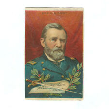 1911 T68 TOBACCO CARD Heroes of History Civil War ULYSSES S GRANT