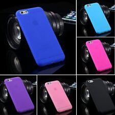 Soft Silicone Gel TPU Ultra-thin Back Skin Case Cover Shell for iPhone 6 6s Plus