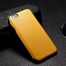 Glossy Soft PU Leather Case For Apple iPhone 6/6 Plus Shockproof TPU Back Cover