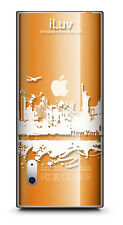 iLuv ICC306 CITYSCAPES Clrar Hard case for iPod 5th Gen Nano, NEW FREE SHIPPING