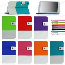 For Samsung Galaxy Tab 3 8 8.0 Inch Tablet Folio Hybrid Case Cover Stand SM-T310